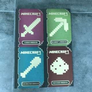 Minecraft Handbook Set