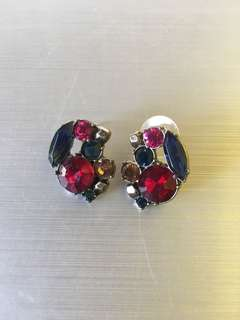 Jewelled earrings