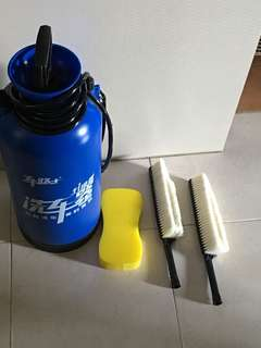 Portable car wash container for sale