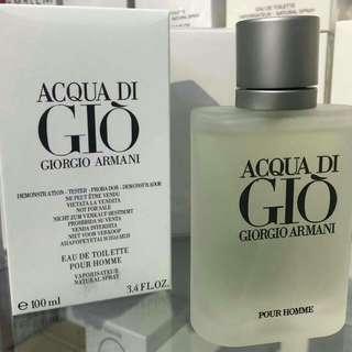 perfume original dan tester