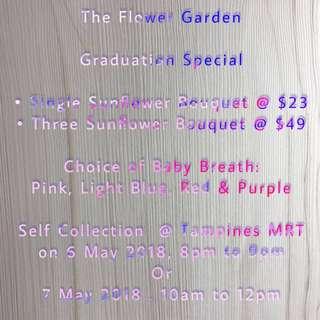 Flower Bouquet | Graduation Special