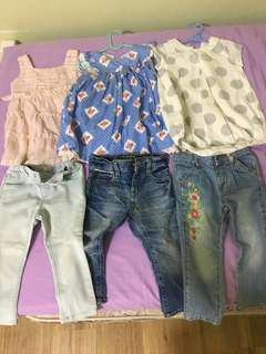 GAP Zara Jean, Pumpkin Patch and Chateau De Sable