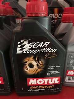 Motul Gear Competition 75w140 1 Litre