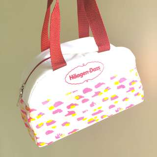HAAGEN DAZS ice cream cooler bag