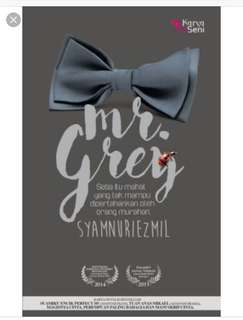 Malay novel Mr Grey