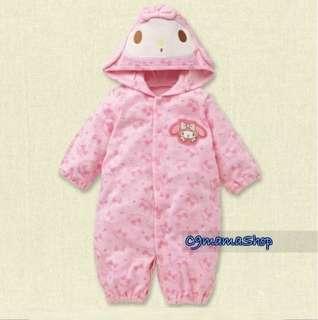 超靚 出口 日本 棉 初生嬰兒 BB 兩用款 卡通 夾衣 睡袋 爬服