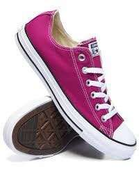 Authentic Converse Low-cut (Dark Pink) Chuck Taylor