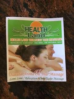 120 minute massage voucher