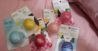 (Preorder)Eos lipbalm// auth frm us
