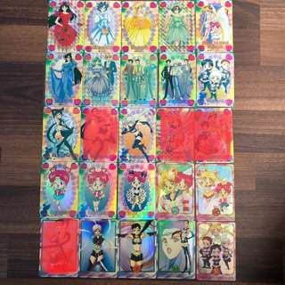Sailor moon Collectible Cards
