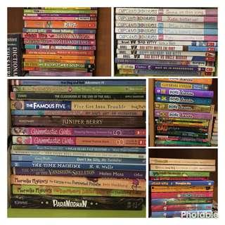 Children book collection