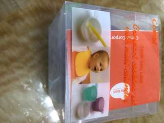 Combi Baby label compact cooking set