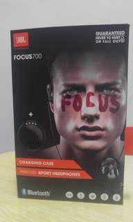 JBL FOCUS 700 WIRELESS SPORT HEADPHONE WITH CHARGING CASE