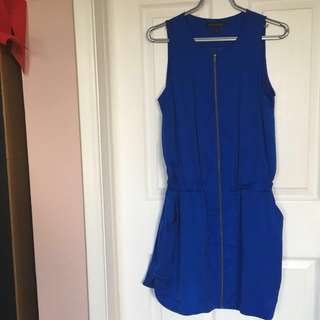 Banana Republic Royal Blue Dress