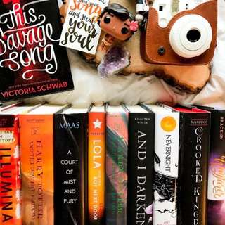 BRAND NEW YOUNG ADULT HARDBACKS