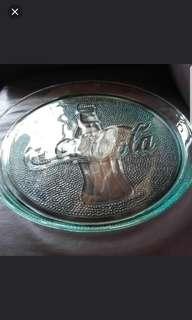 罕有 Coca Cola Glass Plate