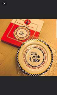 """罕有 Coca Cola 10"""" Dining Plate"""