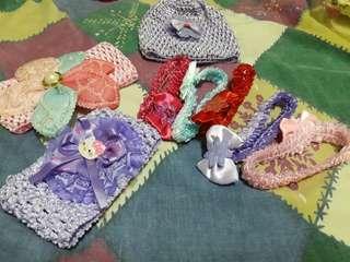 Assorted headbands for babies