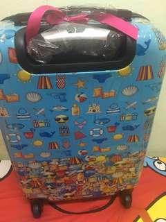 Emoji Luggage Trolley Bag