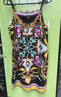 Nicole Miller Print Dress