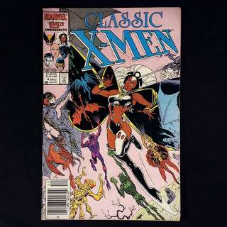 Classic X-MEN #4 (1986 Marvel)