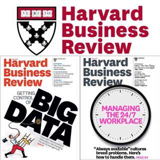 Harvard Business Review 2018 Subscription