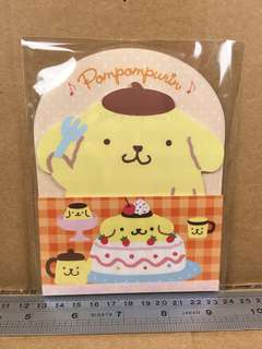 Sanrio PomPomPurin 布甸狗 便條紙 923052