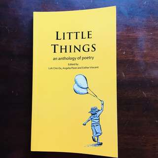 Little Things — Singapore poetry anthology