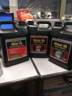 Toyota motor oil and nissan automatic Transmmssion Fluid