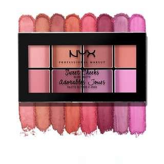 [ORI] NYX Sweet Cheeks Blush Palette