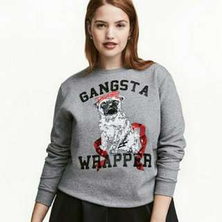 Gangsta Wrapper Xmas Sweater
