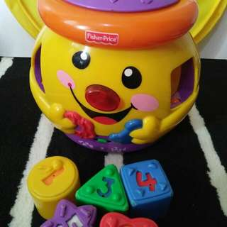 fisher price cookies jar