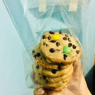 Chocolate Chip Cokkies with M&M