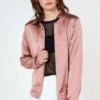 Glassons Satin bomber jacket