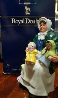 WTS: Royal Doulton Rag Doll Seller HN2944 1983 with Box