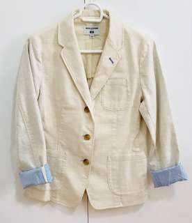 UNIQLO Ines de la fressange off white blazer