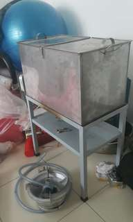 """20"""" Double Compartment Water Boiler"""