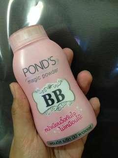 Bedak ponds bb powder