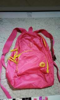 Authentic giordano foldable backpack