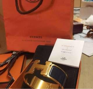 Hermes clic clac ( The H Bracelet )