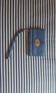 Fossil Blue Wallet and Phone Case