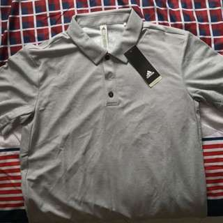 Adidas golf polo T-Shirt with climachill technology BNWT