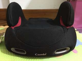 Combo car seat booster