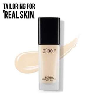 eSpoir pro tailor liquid foundation