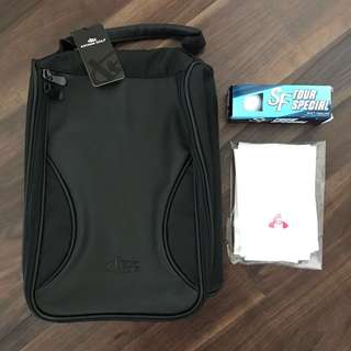 Brand new Golf shoe bag package