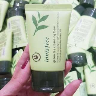 (kosong) Innisfree Green Tea Cleansing Foam 30ml