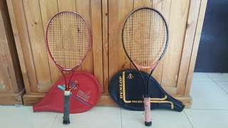 Tennis Racquets 2 pcs (junior, regular)