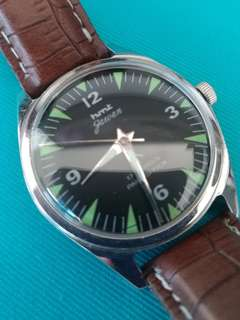 不議價Vintage HMT Jawan Military Manual Watches 古董軍錶