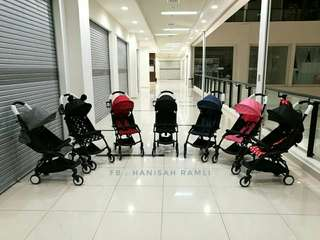 Easy foldable compact stroller (stroller libas)