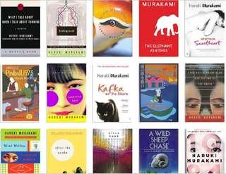 FREE!!! 17 Haruki Murakami Ebook Collection (EPUB)